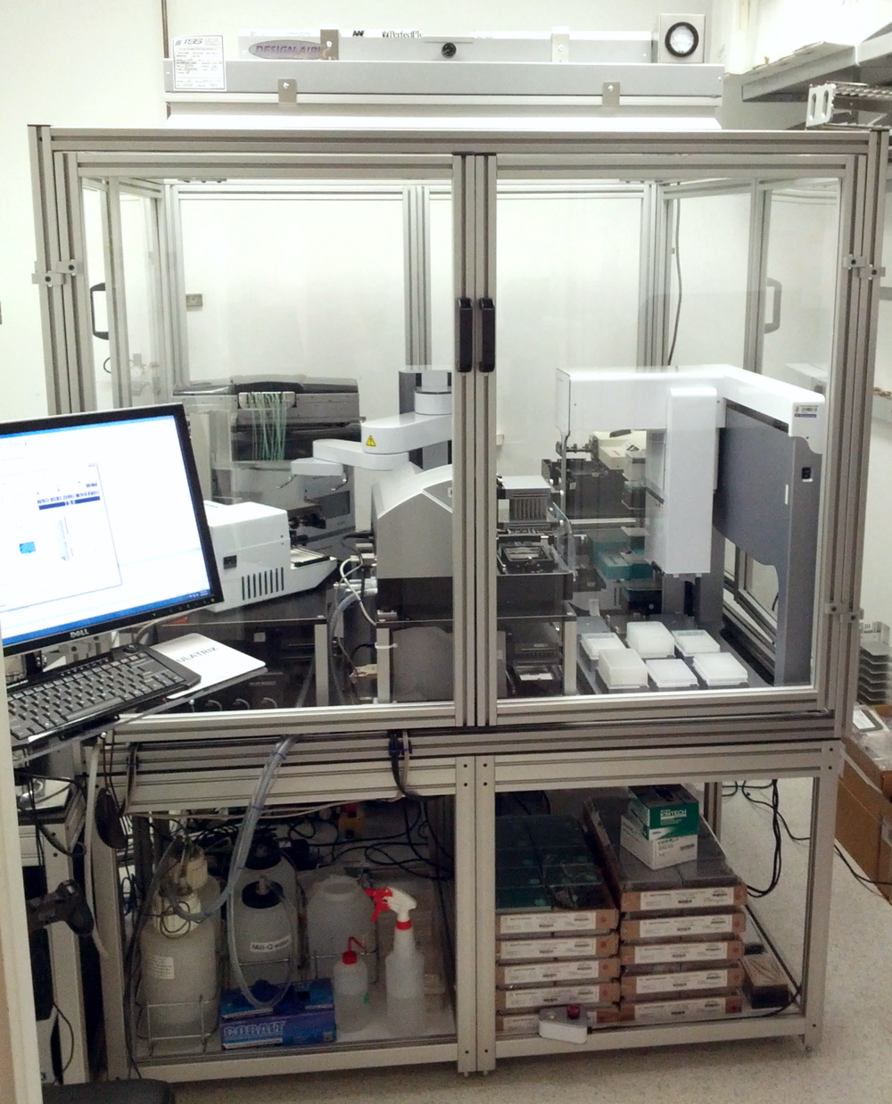 Advanced robotics platform for cellular assays
