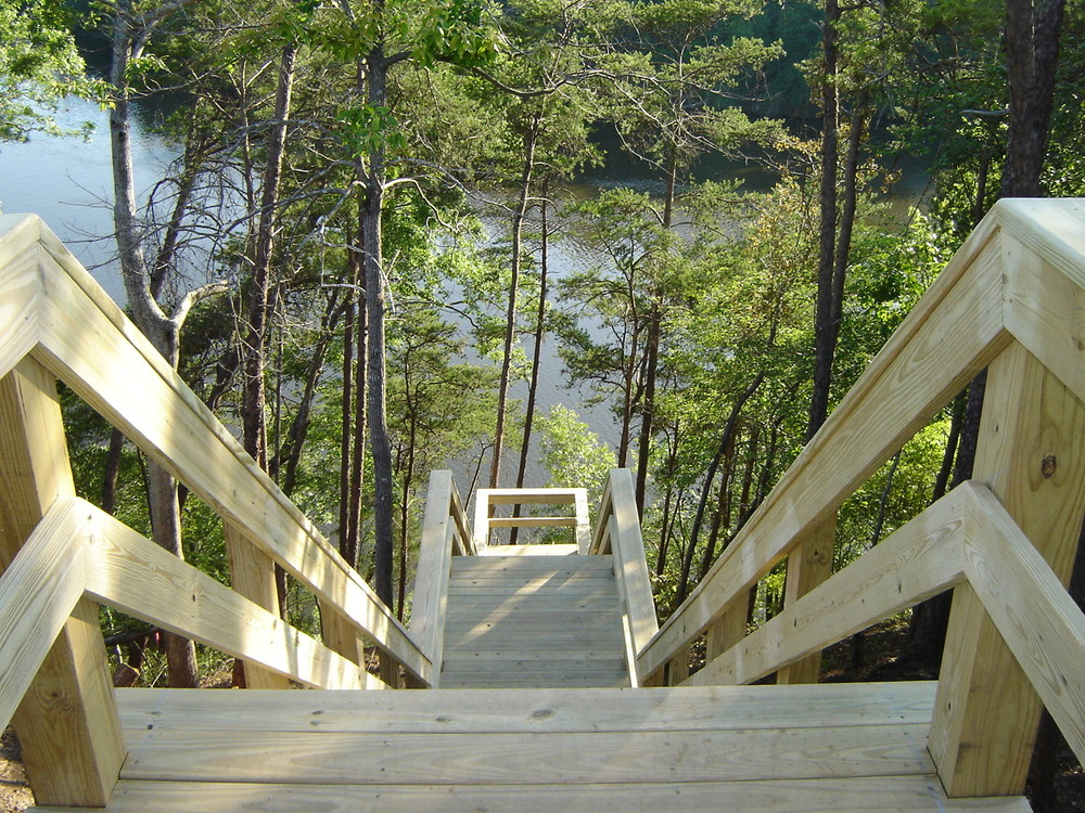Boardwalk Stairs