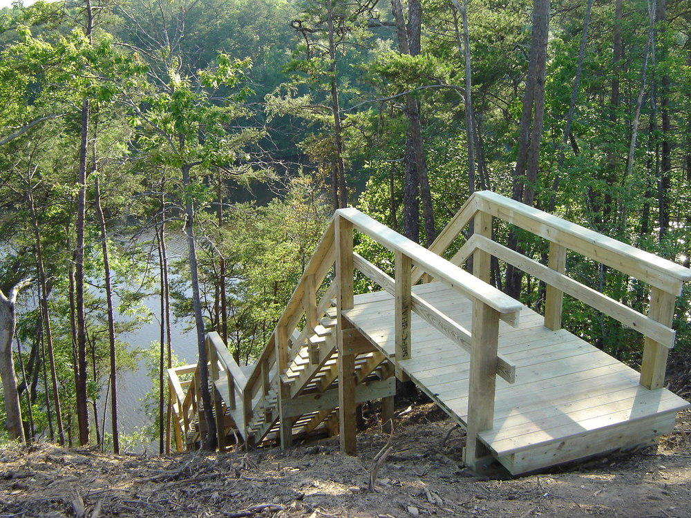Boardwalk with Lake Access