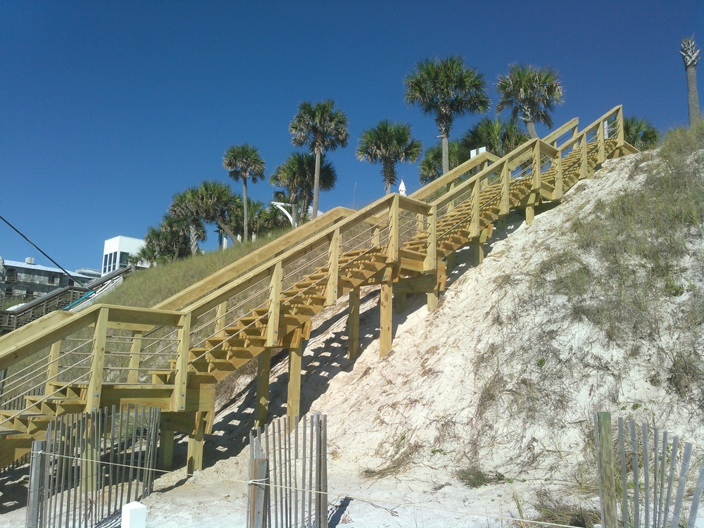 Beach Access Stairs