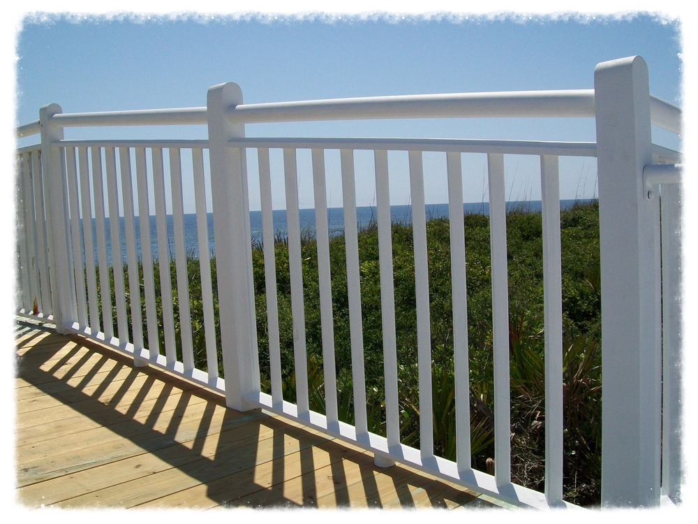 Boardwalk with Handrail