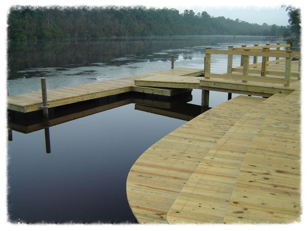 Boardwalk with Floating Dock