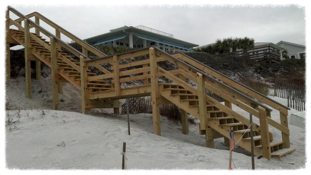 Boardwalk Stairway