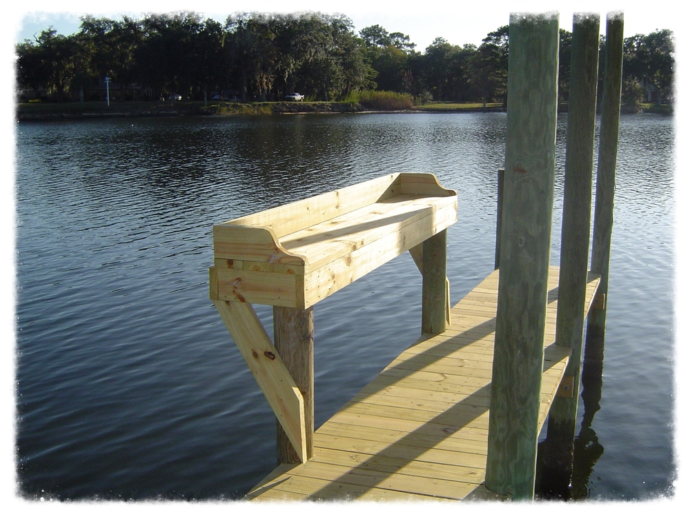 Fishing dock Walton County