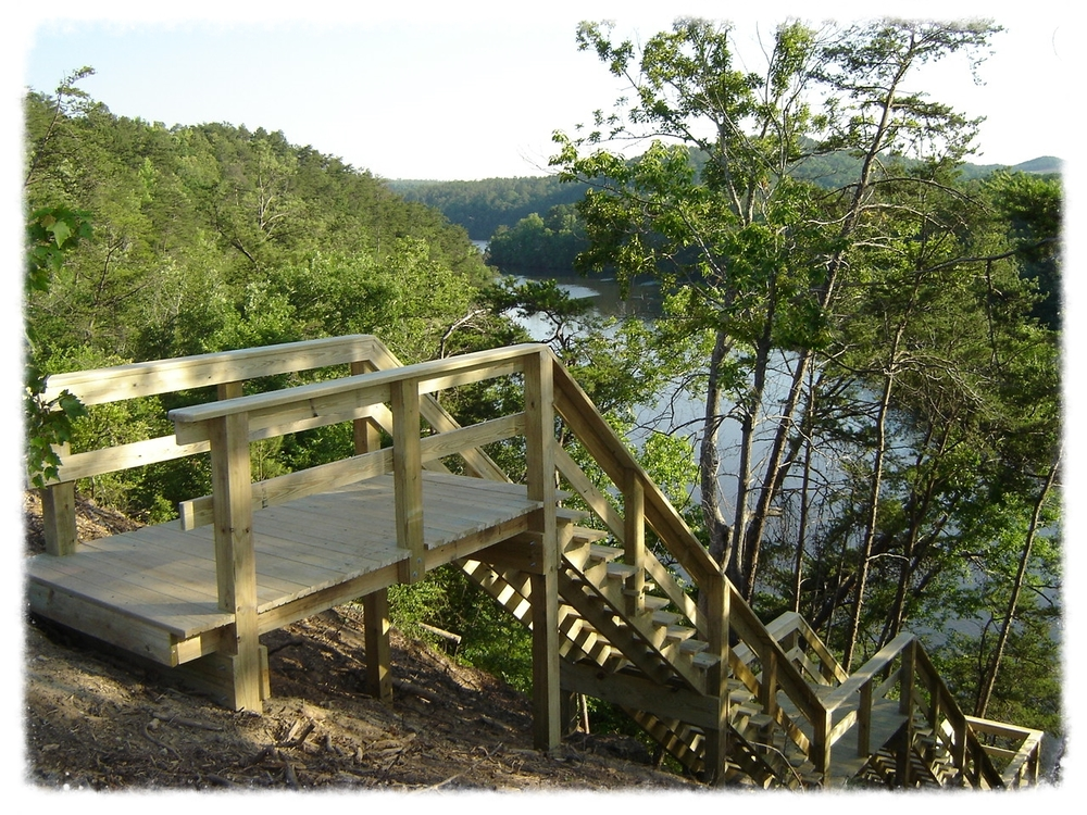 Lake Access Staircase