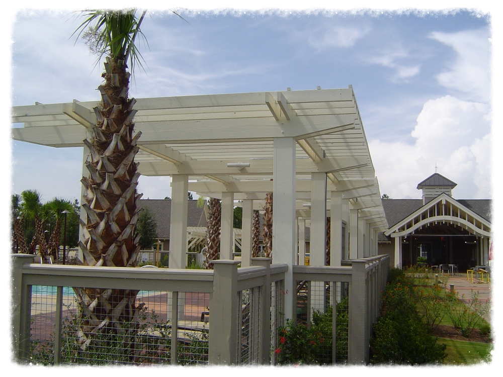 Shade Trellis and Pergola