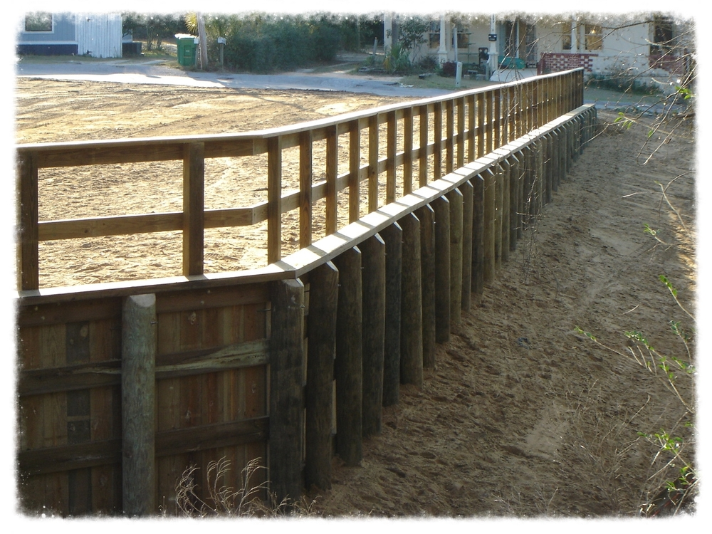 Retaining Wall Design & Construction — Backwoods Bridges : Custom