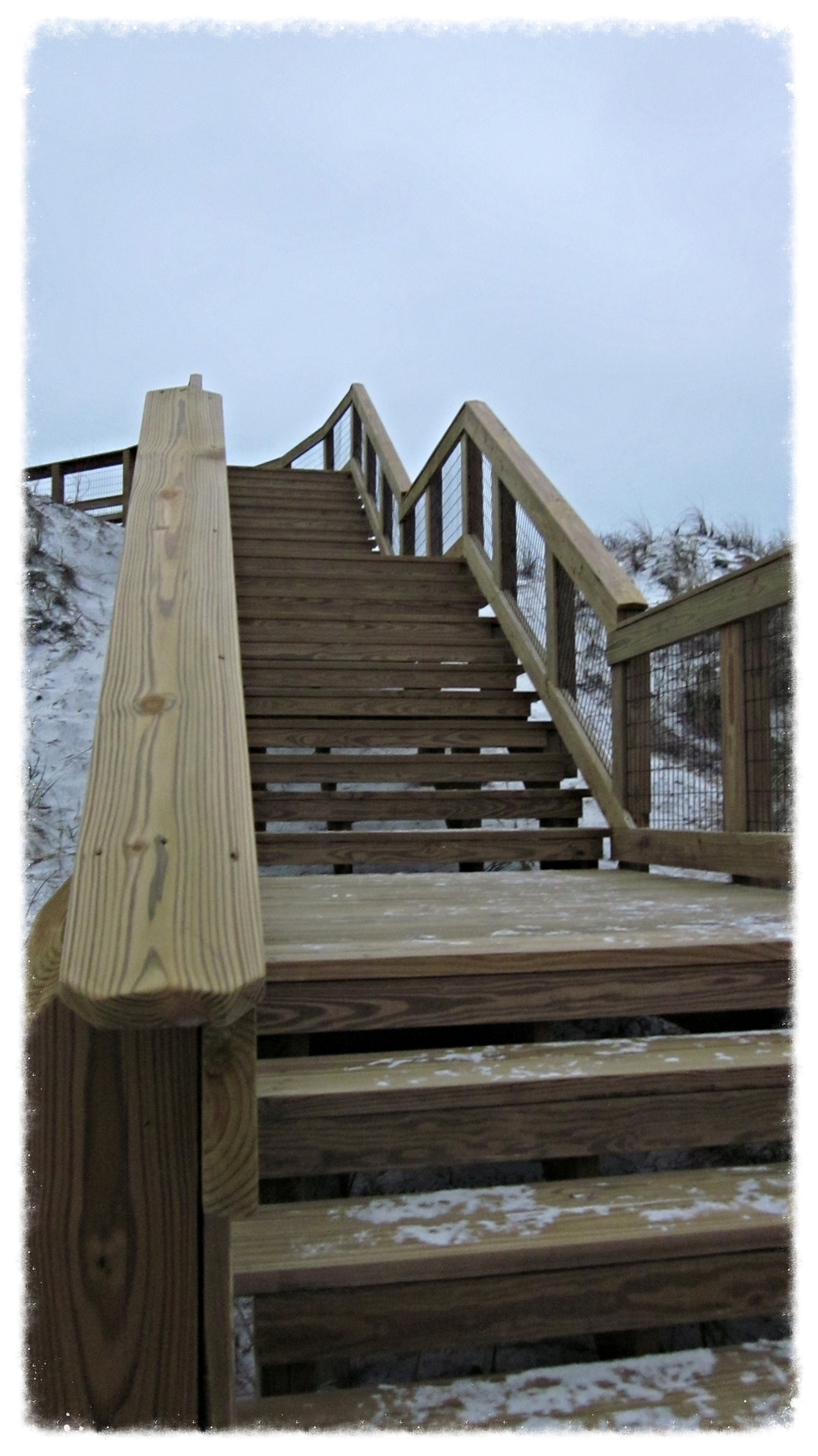 Timber Boardwalk Design Beach Staircase Construction