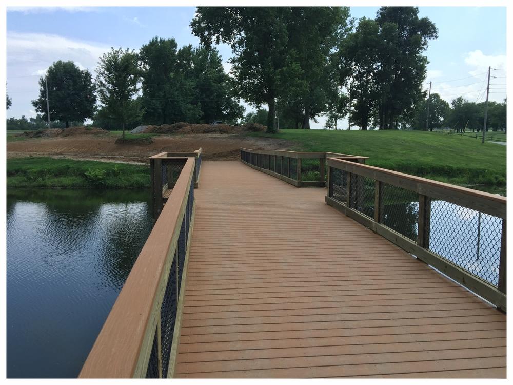 Foot Bridge Construction
