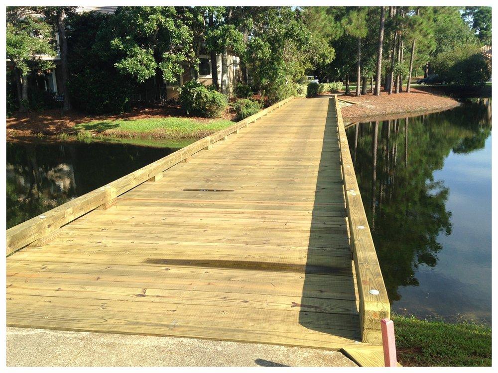 Wooden Bridge Construction Company