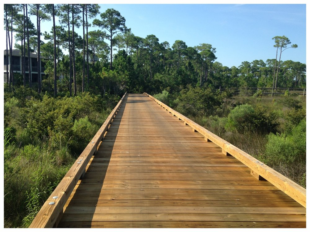 Wooden Golf Cart Bridge