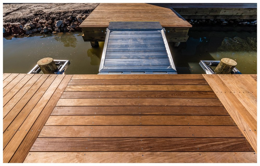Floating T Dock Design and Construction