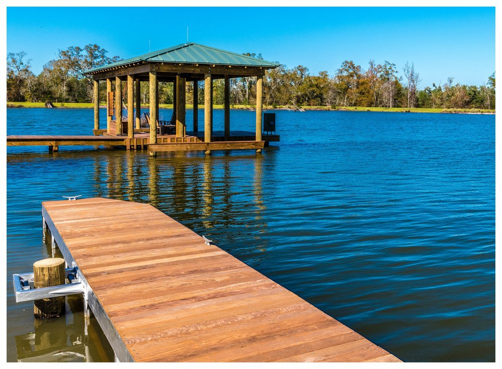 Floating Dock and Boathouse