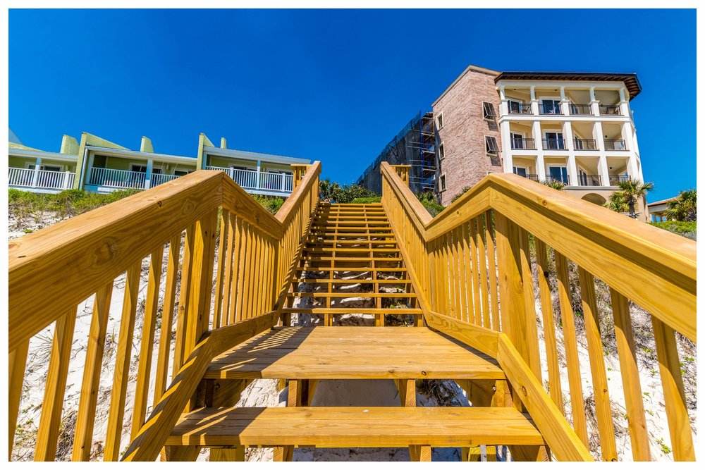 Beach Staircase Building Company