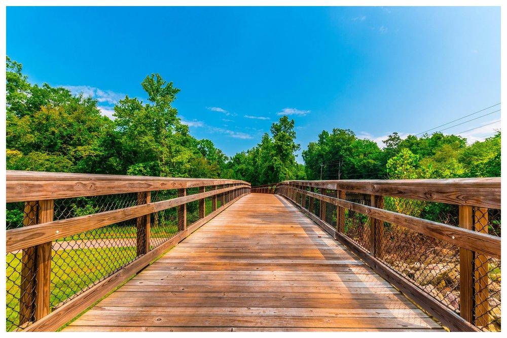 Nature Trail Bridge Construction