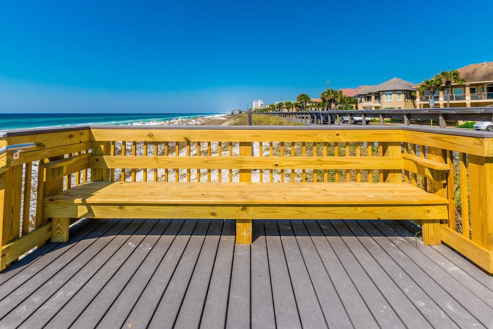 Wooden Boardwalk Construction
