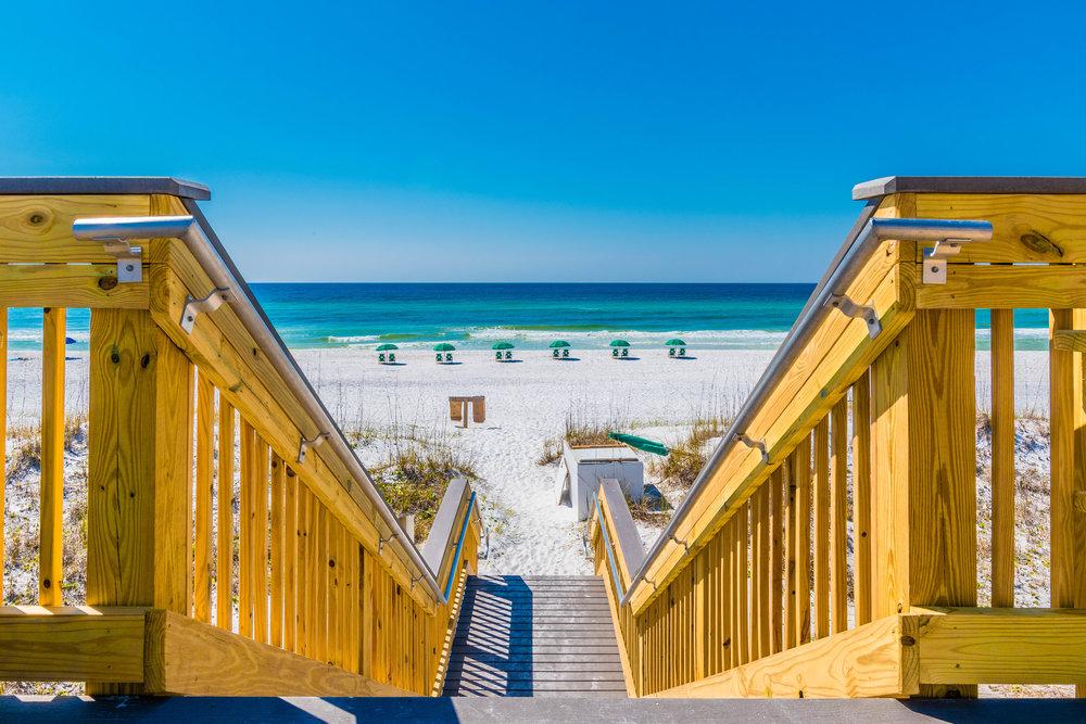 Wood Boardwalk Construction