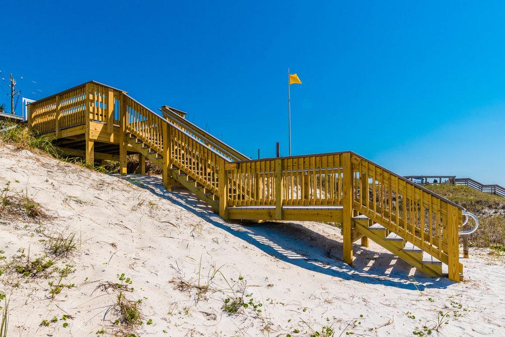 Beach Staircase