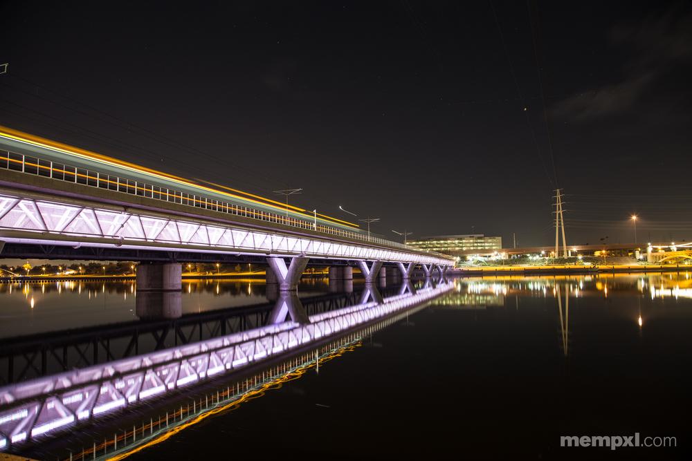 Tempe Town Rail Bridge at Night.jpg