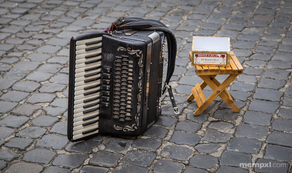 Lone Accordian in Rome.jpg