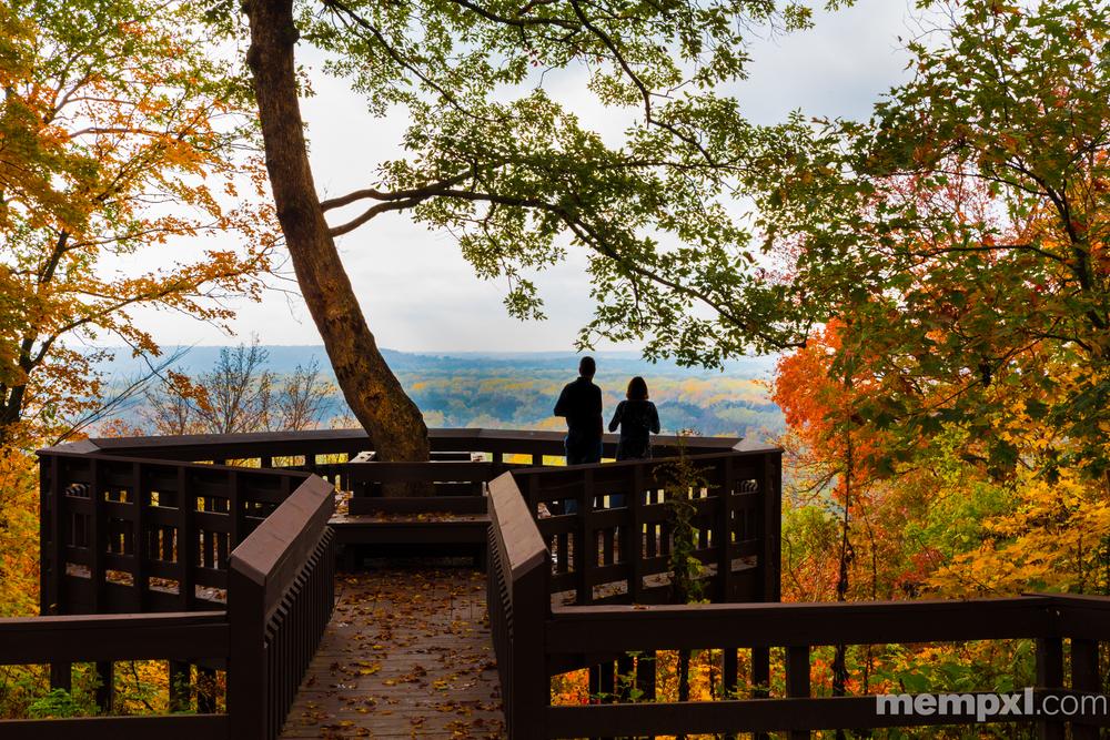 Fall Romance on the Missouri River