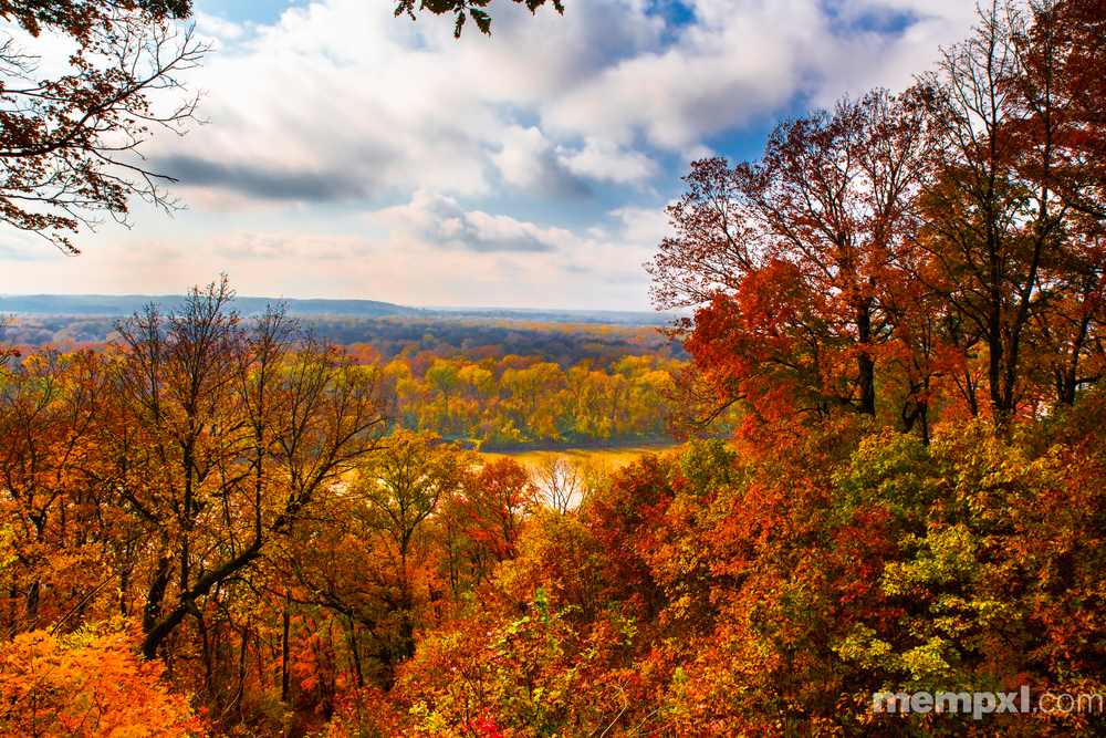 Fall on the Missouri River 2014