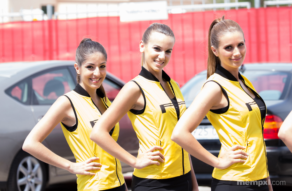 Pirelli Girls at Spanish Grand Prix.jpg