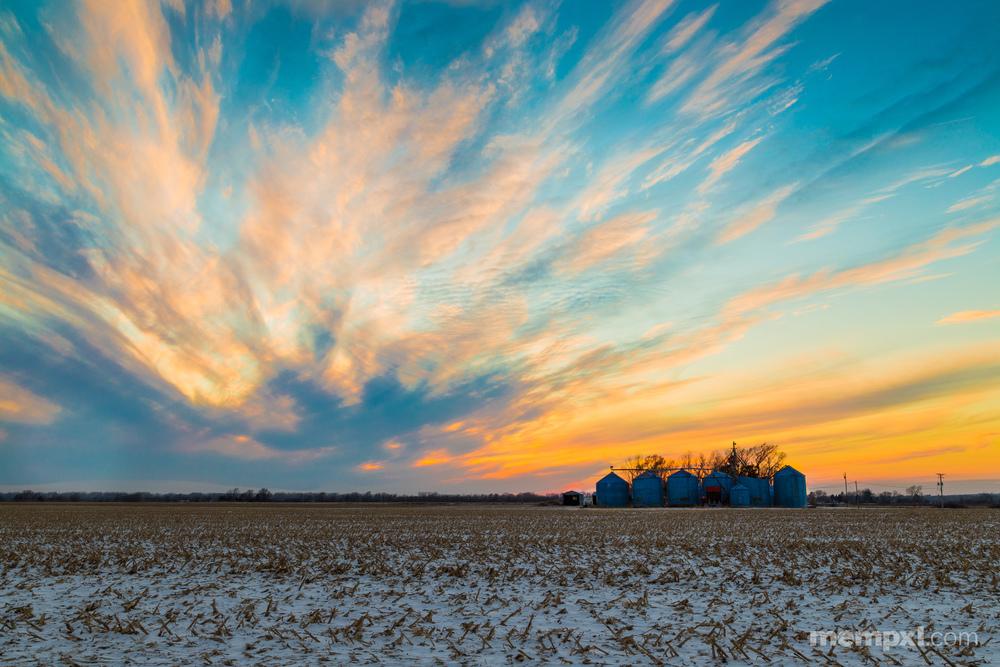Feburary's FIrst Sunset 2014.jpg
