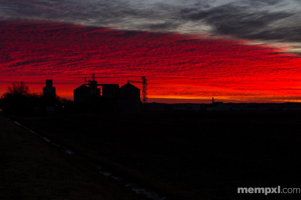 Red Iowa Sunrise (1) WM.jpg
