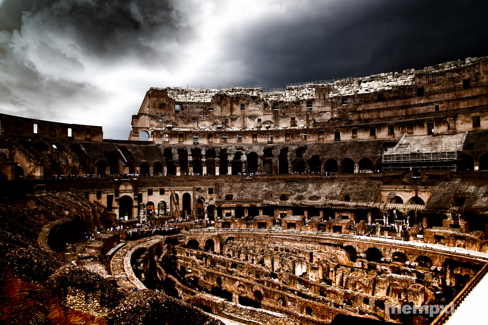 Storm over the Colosseum 2014 WM.jpg