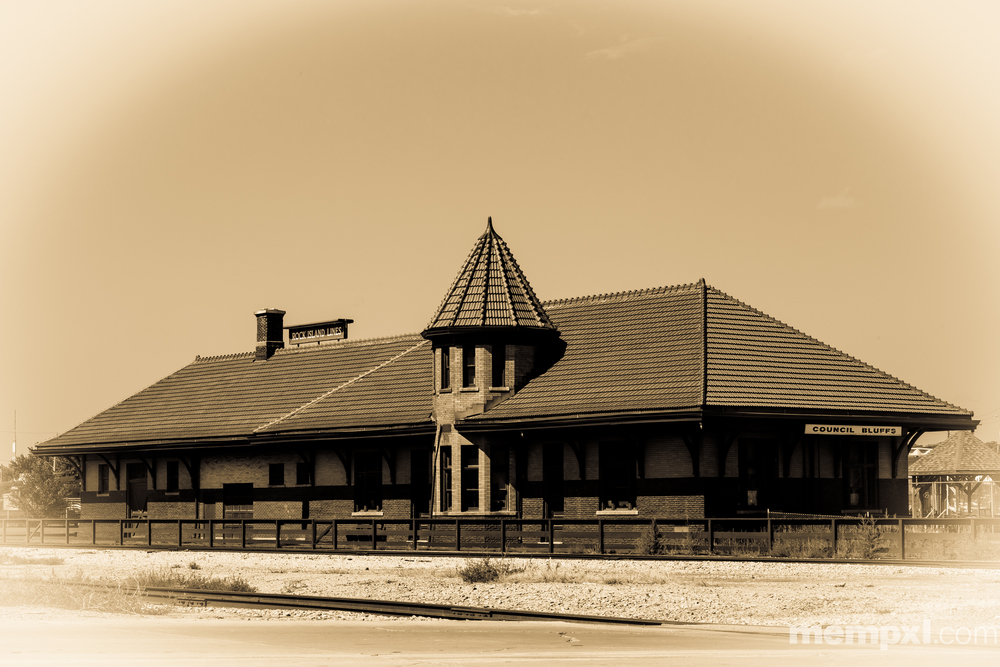 Council Bluffs RR Depot-2  2014 WM.jpg