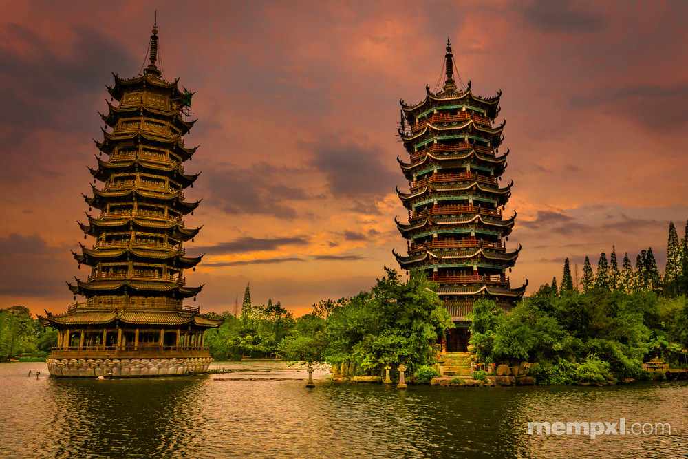 Sun n Moon Pagoda Daiy1 Guilin -  April 2015 WM.jpg