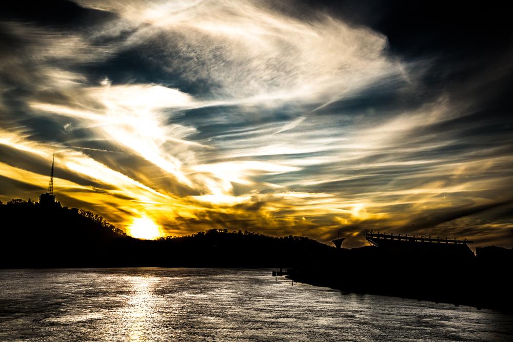 pittsburgh sunset