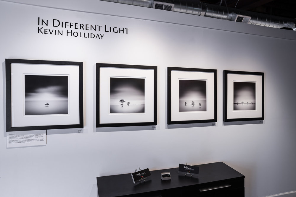 ON DISPLAY AT THE SOUTHEAST CENTER FOR PHOTOGRAPHY FOR A 2018 SOLO EXHIBITION — 'IN DIFFERENT LIGHT'
