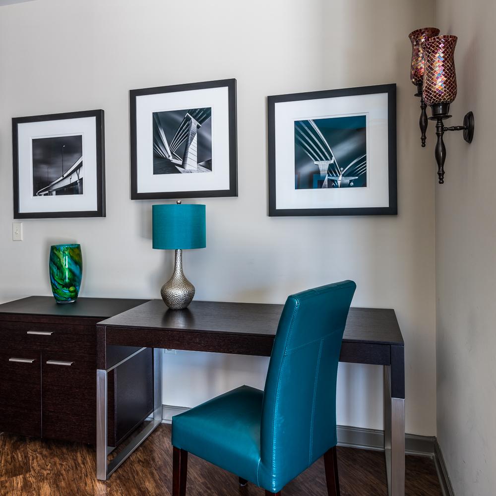 Traditional white mat & Black frame — 24 inch square frame