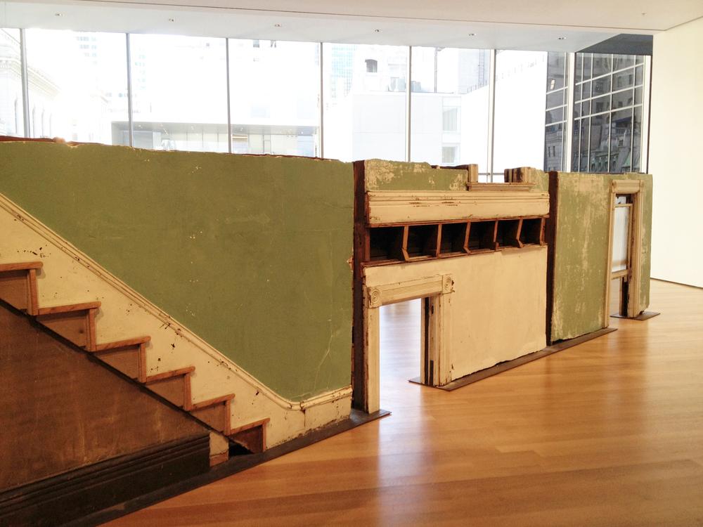 """Bronx Floors"" by Gordon Matta-Clark 1943-1978"