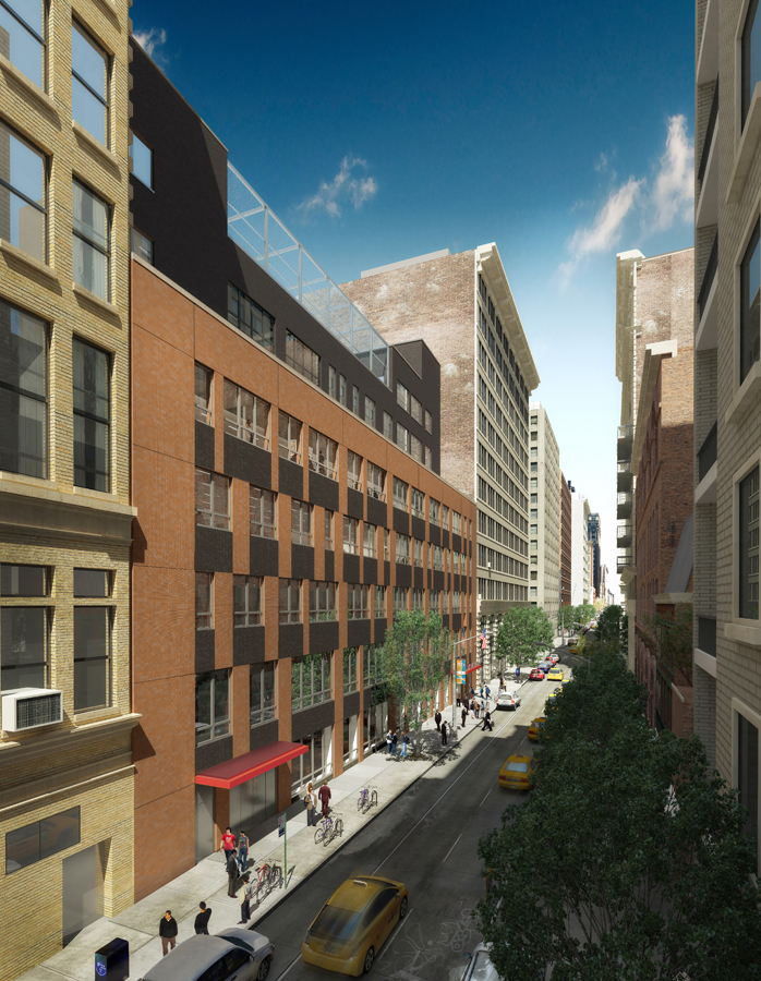 15th Street Rendering looking South / West