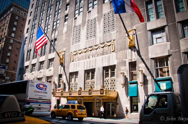 The Waldorf Astoria's exterior was landmarked in 1993. (Courtesy John Hays /  Flickr )