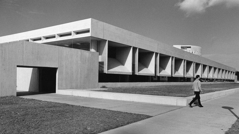 Daniel A. Reed Library, SUNY Fredonia, NY, 1966