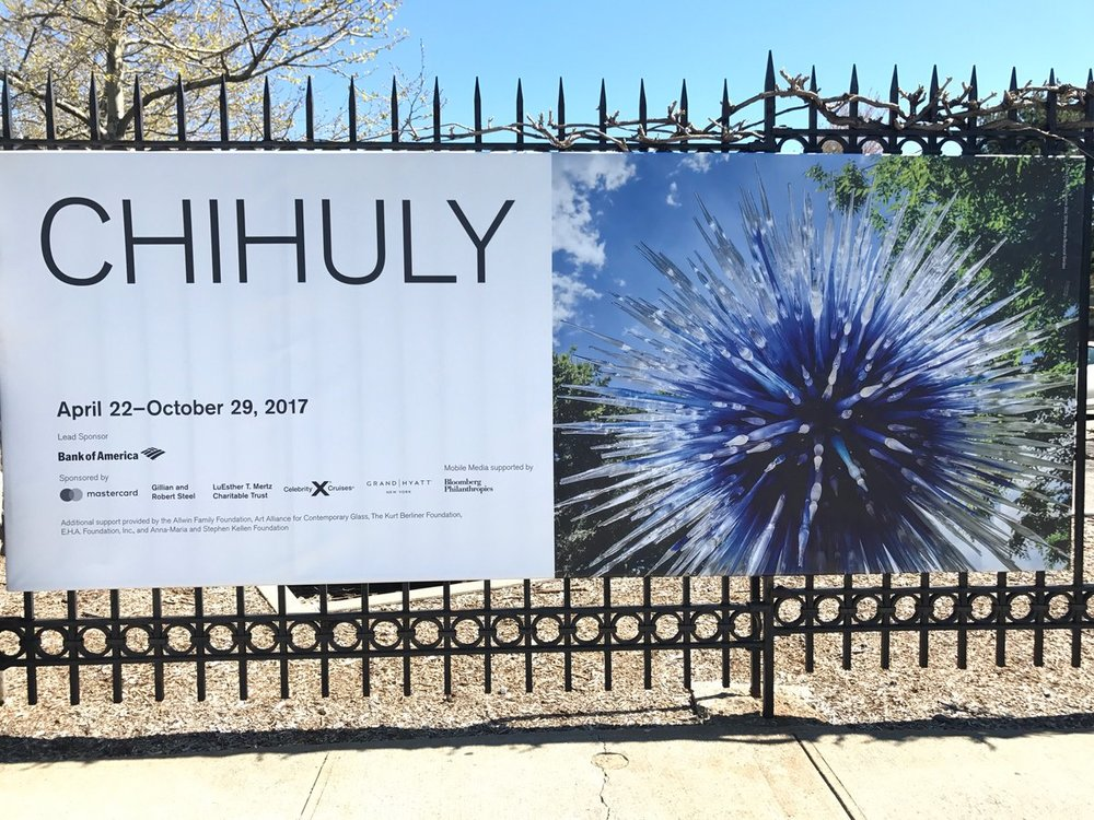 Chihuly At The New York Botanical Gardens In The Bronx