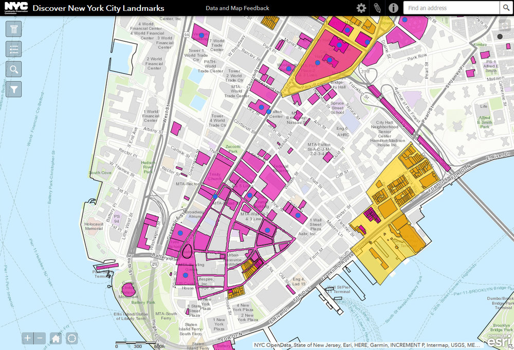 New Map Lets You Search Every NYC Landmark U2014 PKSB Plus
