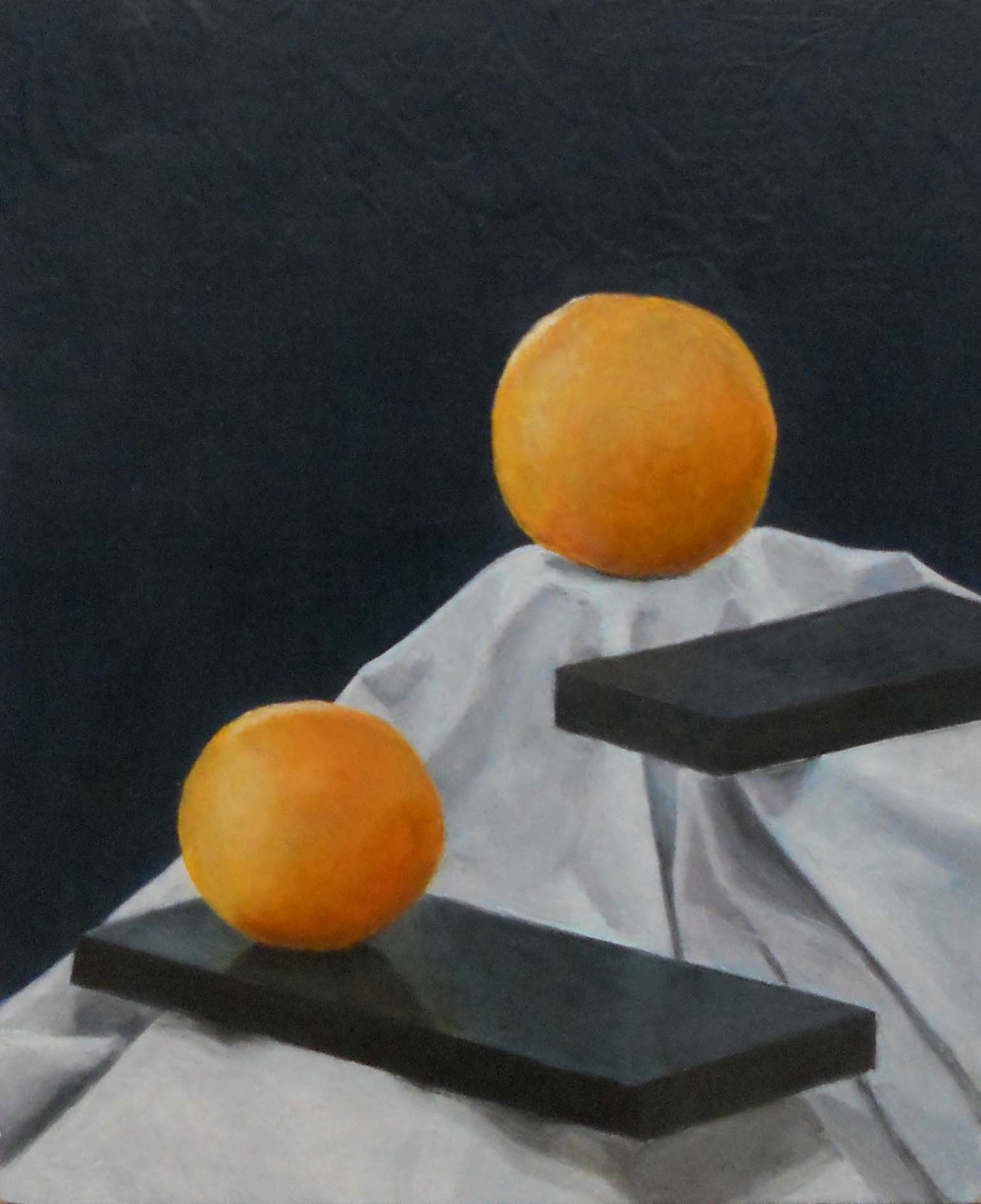 Still Life with Planks & Oranges