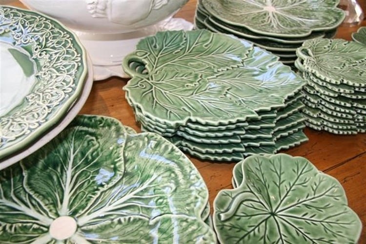 Well known Ceramic Leaf Plates — Parterre LJ63