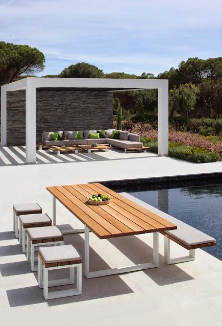 Vigor Outdoor Dining Table By Royal Botania