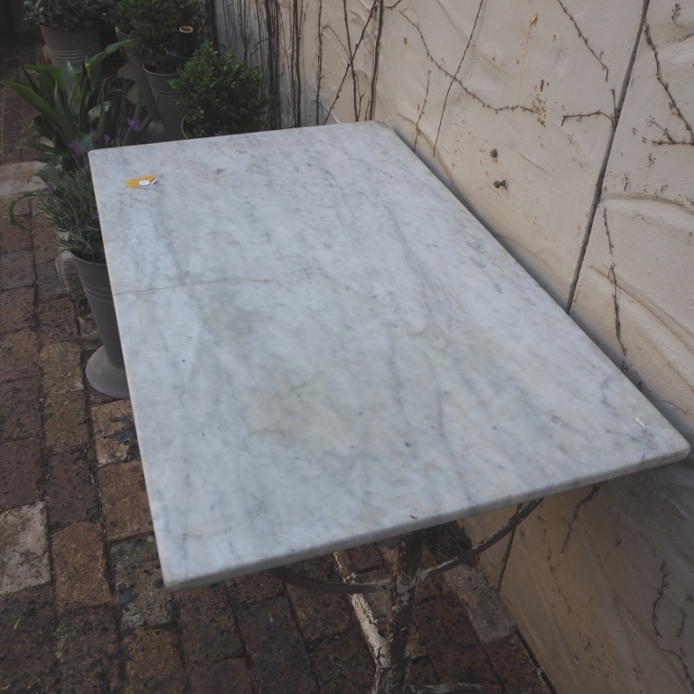 Exceptional Marble Bar Table