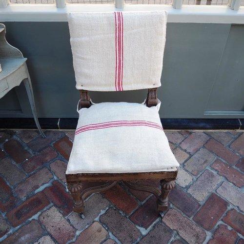 belgian linen chairs parterre