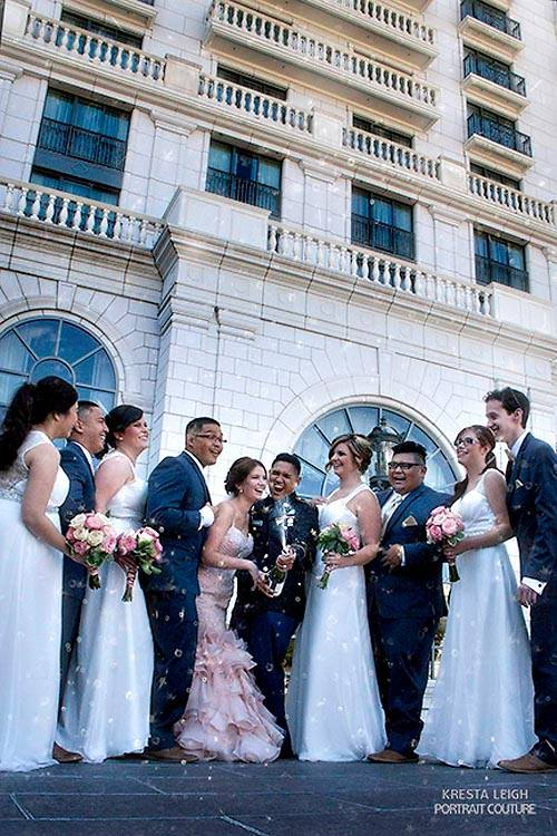 grand america salt lake city wedding photo