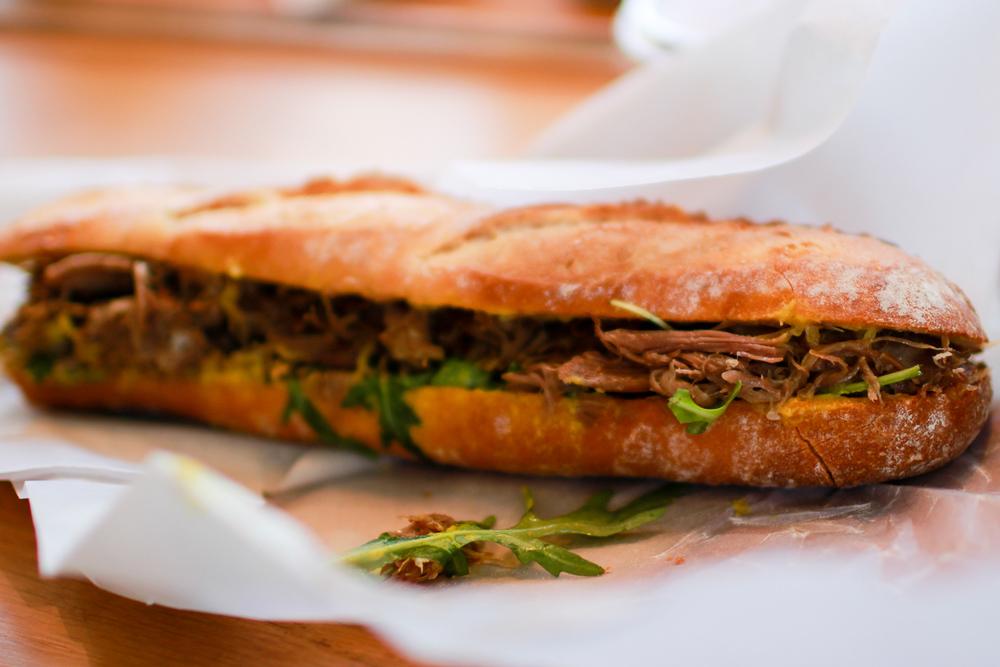 The BEST duck sandwich at Torvehallerne!