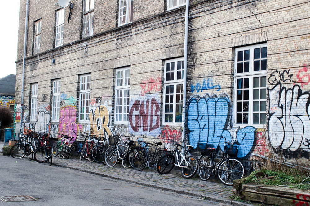 Outside Christiania