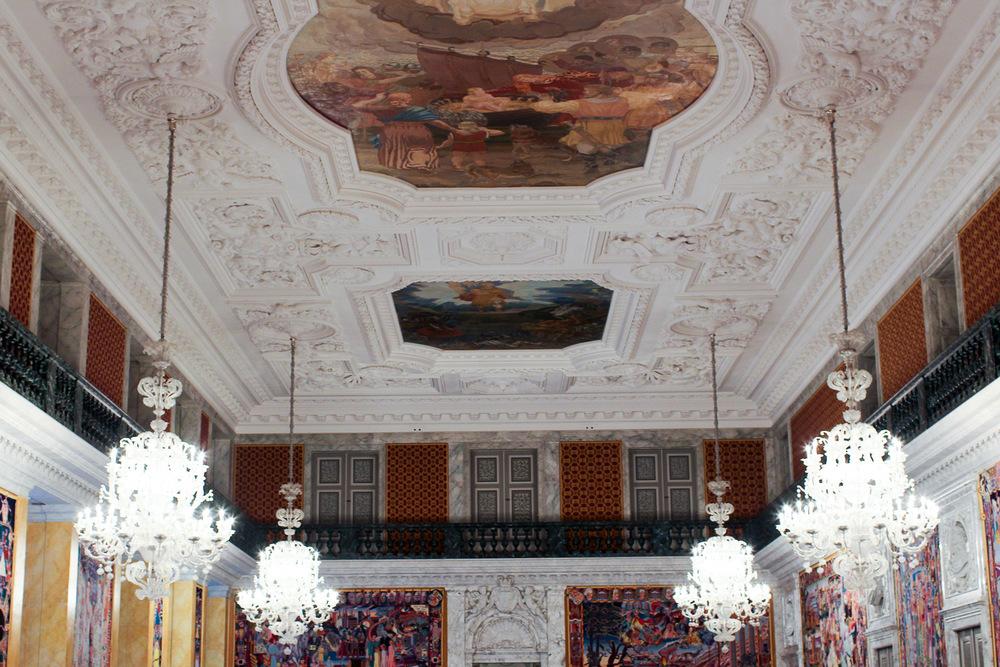 Great Hall at Christiansborg